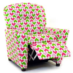 Hearts Recliner with Cup Holder
