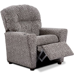 Leopard Recliner with Cup Holder