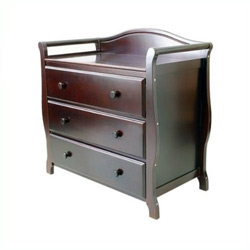 3 Drawer Sleigh Changer