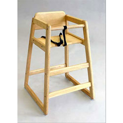 Classic Wood High Chair