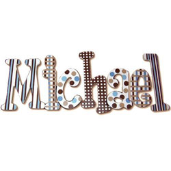 Little Boy Blue 8 Inch Wall Letters