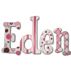 Soda Pop 8 Inch Wall Letters