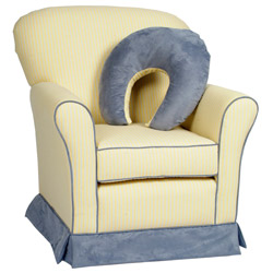Zippity Regal Loose Cushion Glider