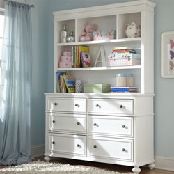 Maddy Bookcase/Hutch with Dresser