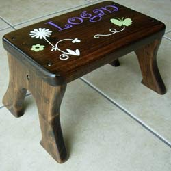Spring Time Step Stool