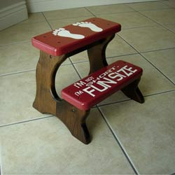Fun Size Double Step Stool