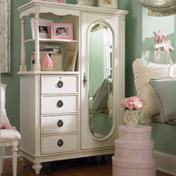 Emma's Treasures Mirror Door Chest