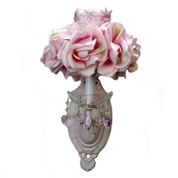 Resplendent Rose One Arm Sconce
