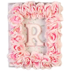 Pink Rose Wall Plaque