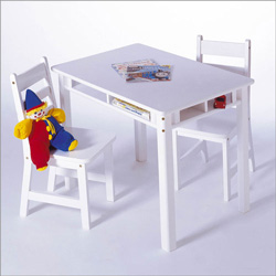 Rectangular Table and Chair Set