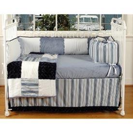 Little Boy Blue Crib Bedding Set
