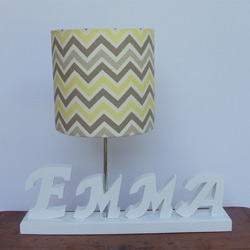 Custom Handmade Name Lamp