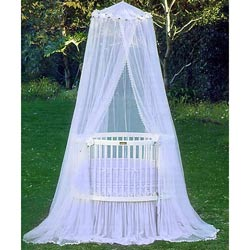 Baby Treasures Round Crib Bedding