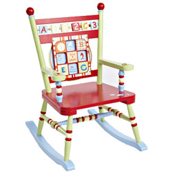Alphabet Soup Kid's Rocker