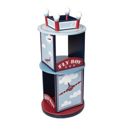 Fly Boy Airplane Revolving Bookcase