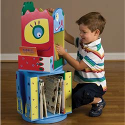 Monster Double Revolving Bookcase