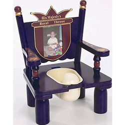 His Majesty's Throne Potty