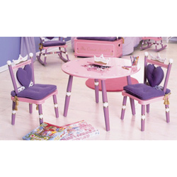 Princess Table and Chairs Set