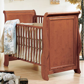 Logan Sleigh Convertible Crib