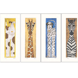 Long Animals Wall Art