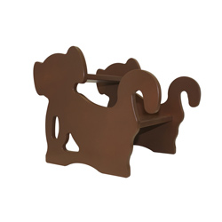 Brown Monkey Step Stool