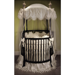 Antoinette Round Crib Bedding Set
