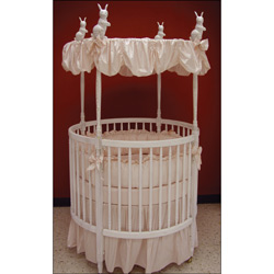 Danielle Round Crib Bedding