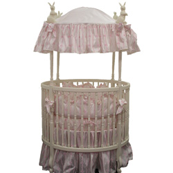 Juliette Round Crib Bedding