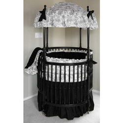 Olivier Round Crib Bedding