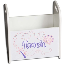 Personalized Princess Book Caddy