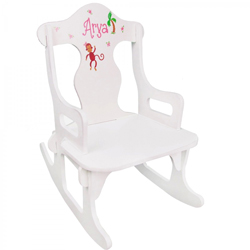 Personalized Monkey Girl Rocker