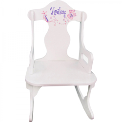 Personalized Princess Puzzle Rocker