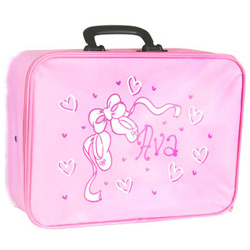 Personalized Pink Suitcase