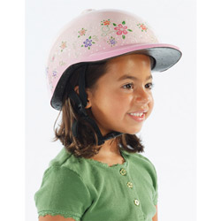 Princess Jeweled Bicycle Helmet