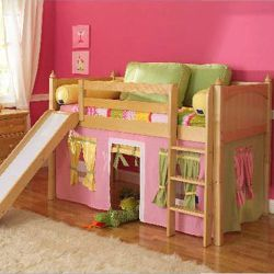Princess Low Loft Bed
