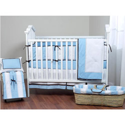 Metro Rugby Crib Bedding Set