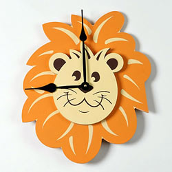 Lion Head Clock