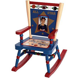 Toddler's All Star Sports Mini Rocker