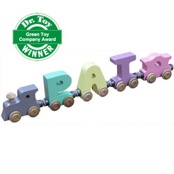 Pastel Color Name Train
