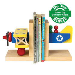 Nursery Wooden Bookend for Baby Boy & Girl [Personalized