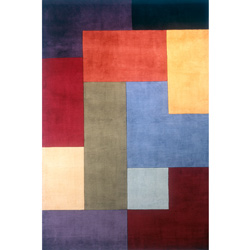 Color Blocks Rug