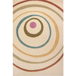 Concentric Circles Rug