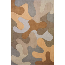 Brown Splash Rug