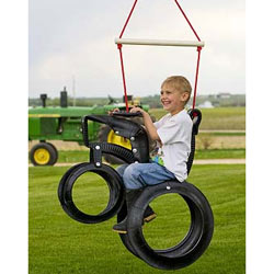 Tractor Ride'n Tire Swing