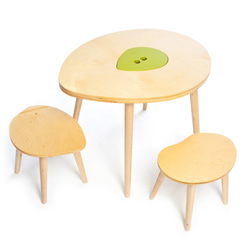 The Owyn Table and Stool Set