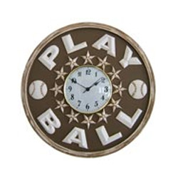 Play Ball Wall Clock