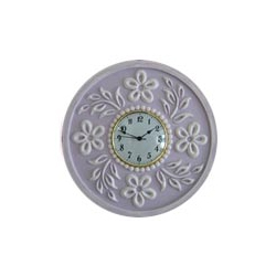 Tropical Hibiscus Wall Clocks