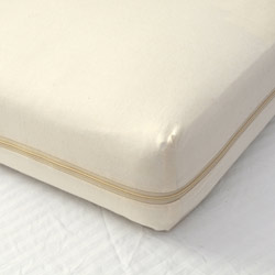 All-In-One Organic Cotton Bassinet Mattress Coverlet