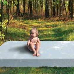 Nature's Star Crib Mattress with Organic Coverlet