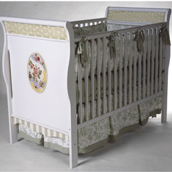 Oval Rose Mosaic Crib